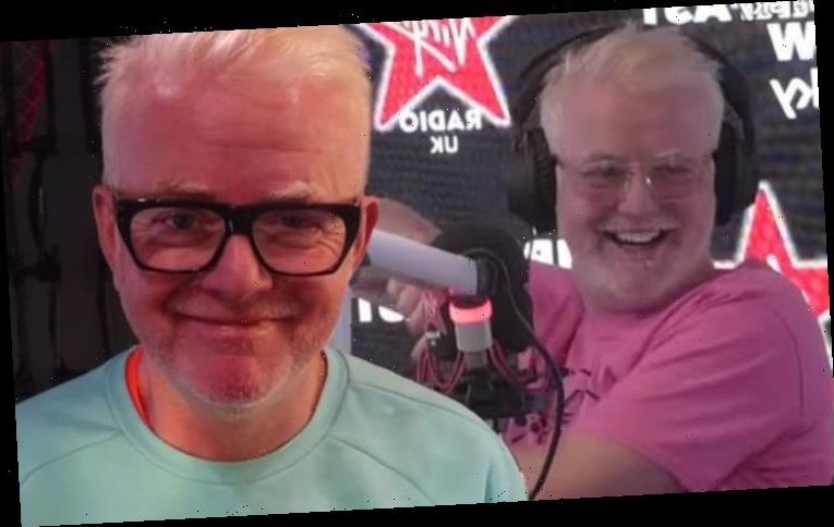 Chris Evans: Virgin Radio DJ makes back-up plan gag if marriage goes 'pear-shaped'
