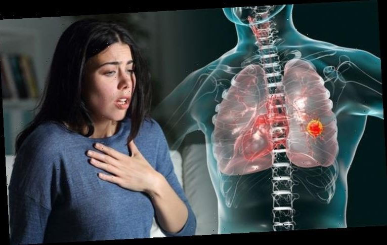 Lung cancer symptoms: The sign in your breathing that could signal the deadly condition