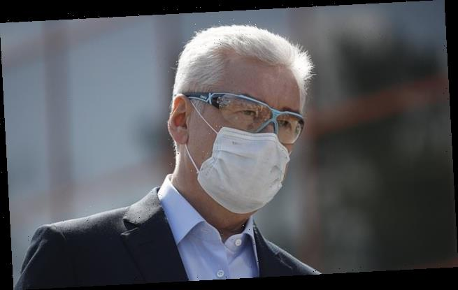 Moscow has seen nearly 300,000 cases of coronavirus, mayor claims