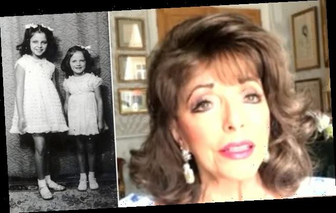 Joan Collins says the coronavirus lockdown reminds her of the Blitz