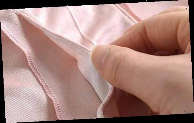Mother asks why there is an 'odd pocket' in the crotch of her knickers