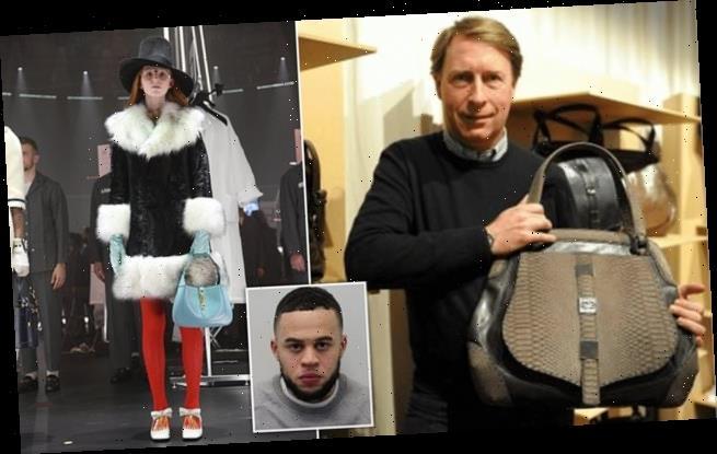Gucci heir's handbags nabbed in £30k raid