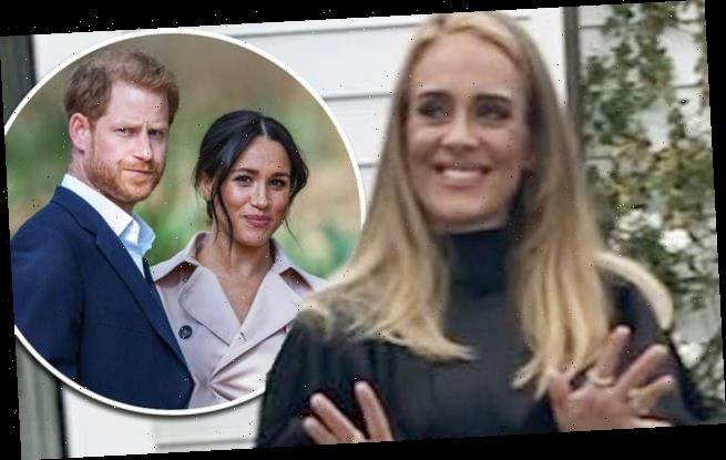 Adele gives 'Prince Harry and Meghan advice on Beverly Hills life'