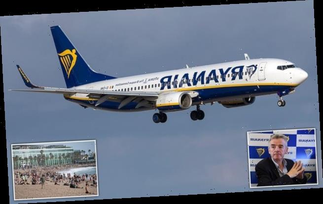 Ryanair will ramp up services when Spain reopens to tourists on July 1