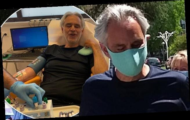 Andrea Bocelli reveals he secretly battled COVID-19 in MARCH
