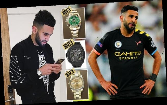 Riyad Mahrez becomes the latest star to be targeted by thieves