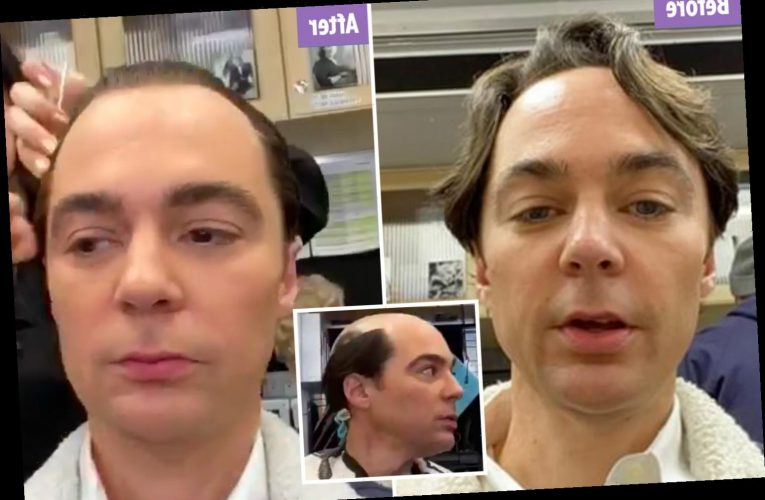 The Big Bang Theory's Jim Parsons shows off dramatic hair transformation for Netflix's Hollywood – The Sun
