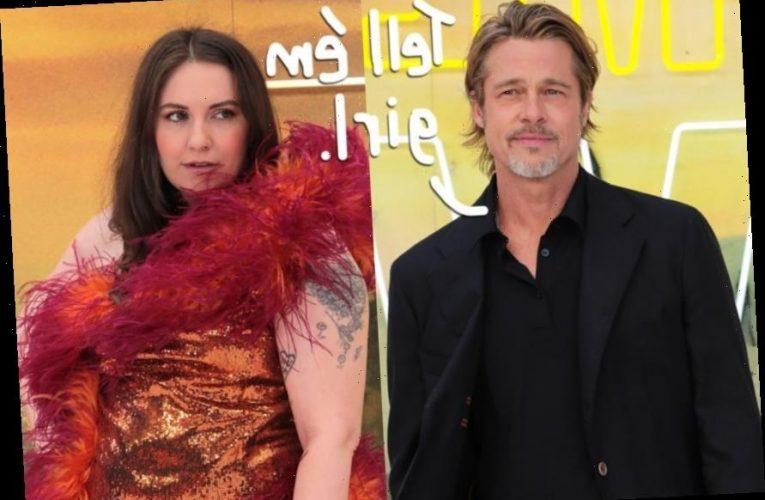 Brad Pitt Gave Lena Dunham A Ring?! Prepare To Be Jealous!