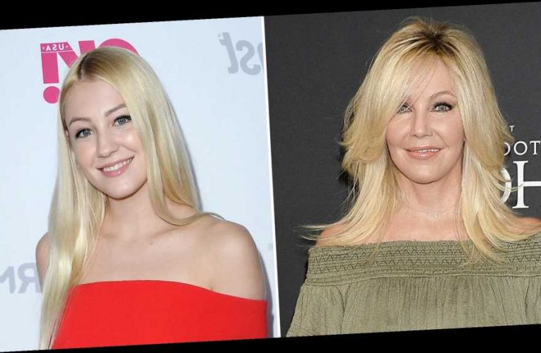 Heather Locklear Shares Photos From Daughter's At-Home College Graduation