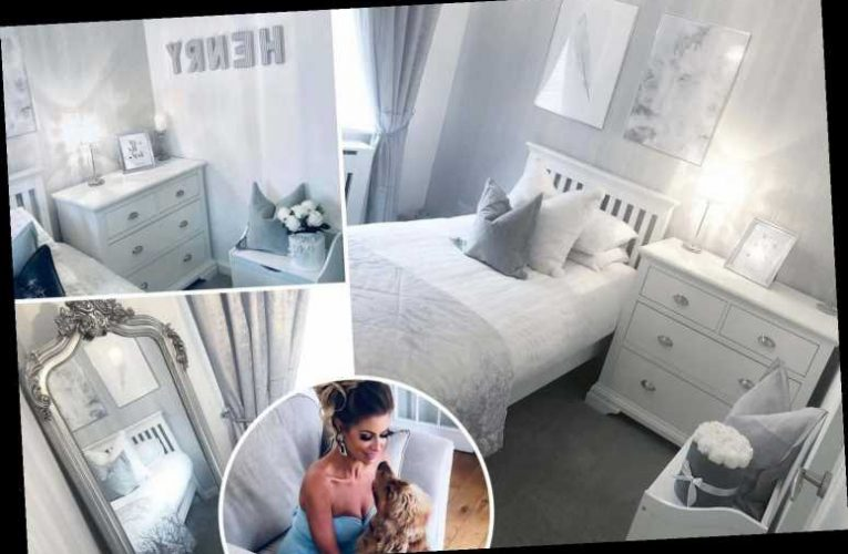 Inside Mrs Hinch's pampered dog Henry's bedroom – with a full-sized bed, velvet sheets and chandelier