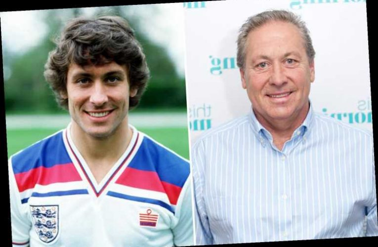 Kenny Sansom's family hope a bedside photo of his glory days could help his fight for life – The Sun