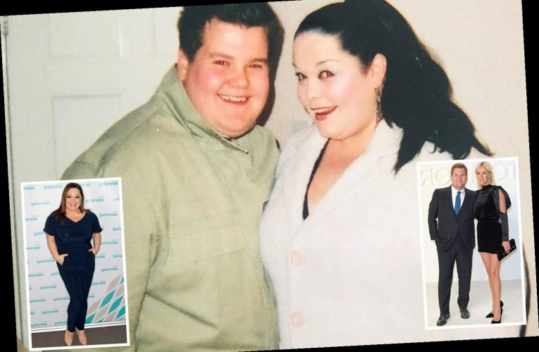 Emmerdale's Lisa Riley shares incredible throwback snap with pal James Corden before their weight loss – The Sun