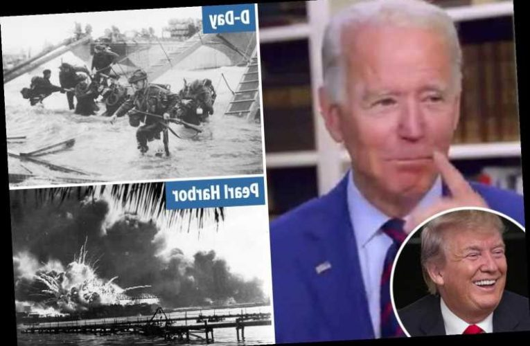 Joe Biden appears to confuse dates of D-Day and Pearl Harbor during livestream campaign event – The Sun