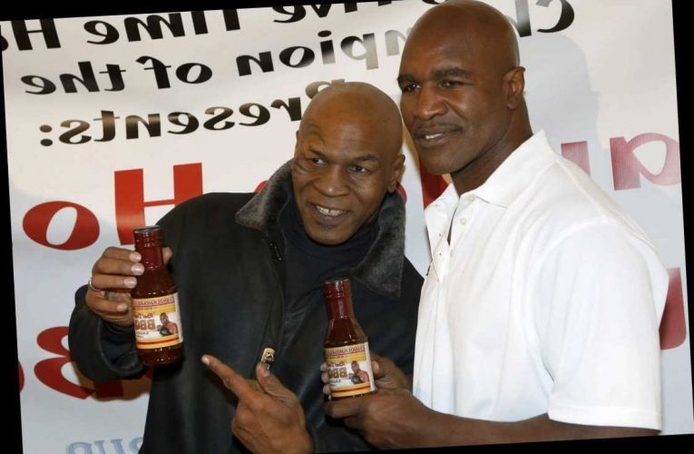 Fans pray for Mike Tyson vs Evander Holyfield 3 after both boxing legends come out of retirement in their 50s – The Sun
