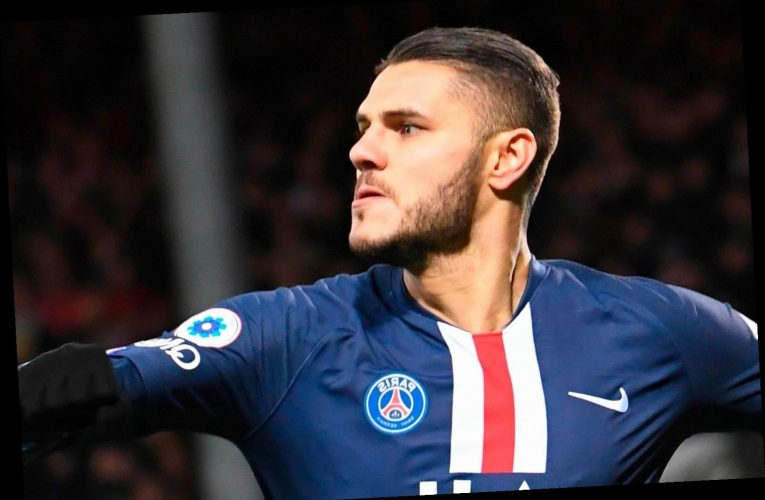 PSG launch £54m transfer offer for Mauro Icardi as talks begin with Inter Milan after successful loan spell – The Sun