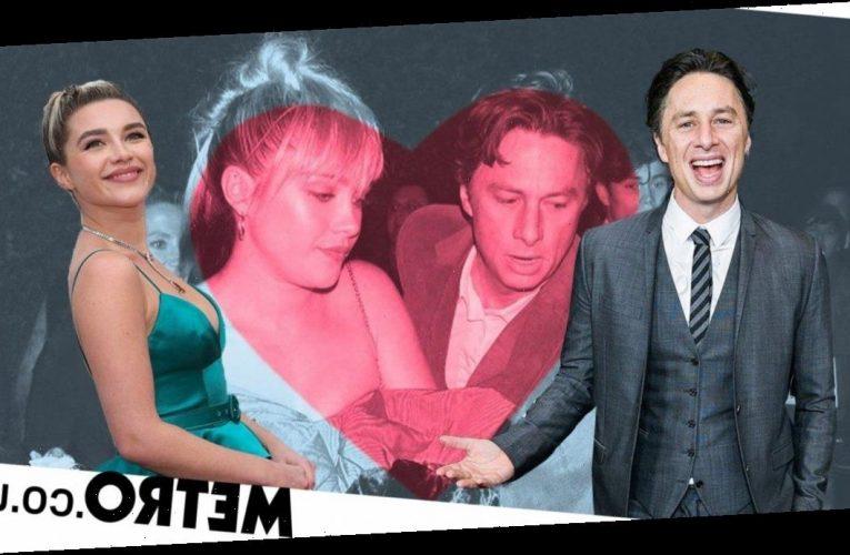 Inside Florence Pugh and Zach Braff's relationship as actress serves the critics