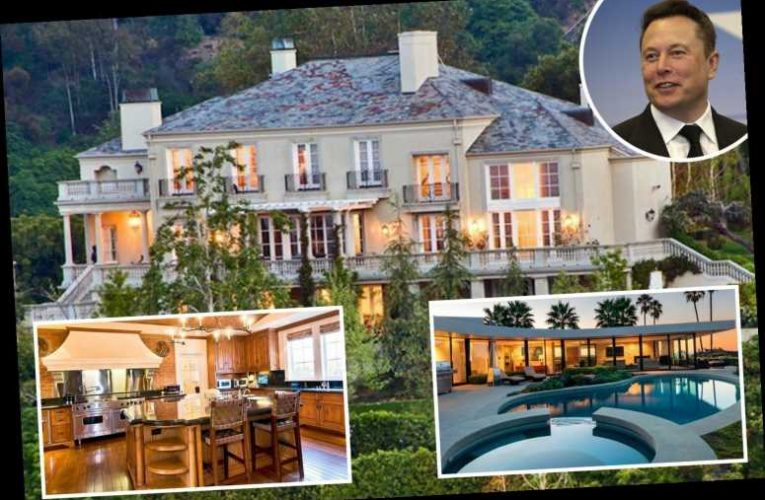 Inside Elon Musk's extravagant array of mansions which the Tesla CEO is selling for more than $100m – The Sun