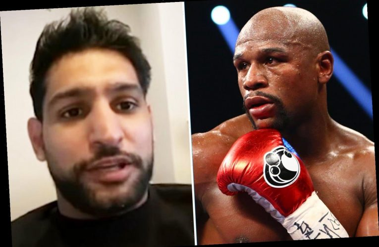 Amir Khan claims Floyd Mayweather called him out for fight last time pair met and reveals 'humble' side to boxing legend – The Sun