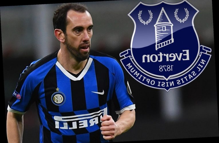 Everton look to make shock transfer swoop for Diego Godin after poor season for ex-Man Utd target at Inter Milan – The Sun