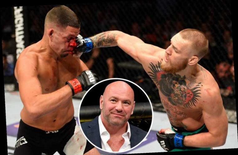 Conor McGregor is looking for next UFC target, reveals Dana White – but Nate Diaz rumour is just 's***-talking' – The Sun