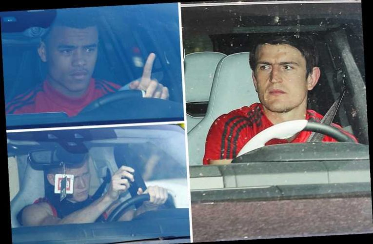 Man Utd arrive for training for first time since being given all-clear following negative coronavirus tests – The Sun