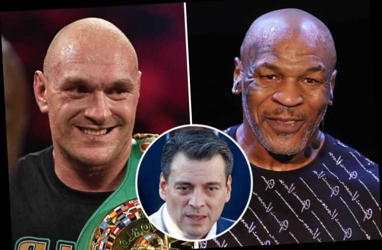 Mike Tyson vs Tyson Fury fight could be for the world title says WBC president Mauricio Sulaiman – The Sun