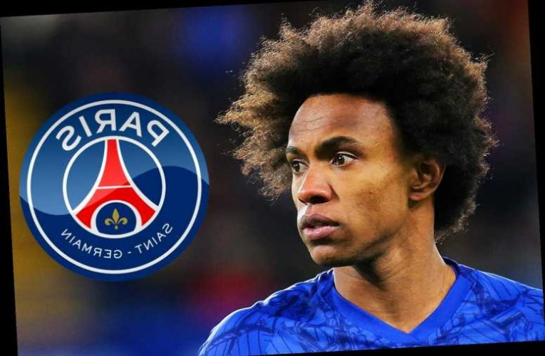Chelsea star Willian wanted by PSG on free transfer with Arsenal still in hunt as deals runs out next month – The Sun