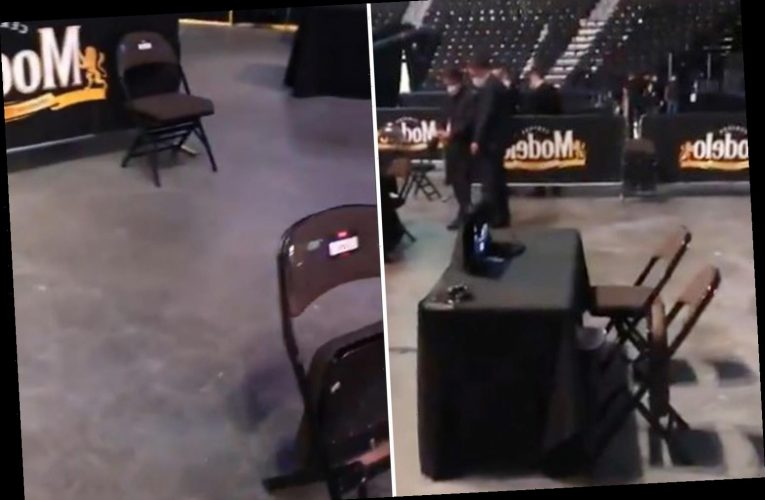 Inside UFC 249 fight venue with social distancing at cageside, no crowd, judges separated and commentators spread out – The Sun