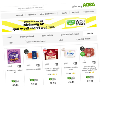 Asda cuts price of 1,000 everyday essentials in fresh supermarket price war