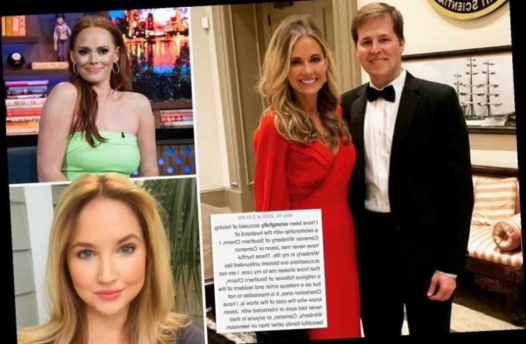 Southern Charm Cameran Eubanks' hubby's alleged mistress denies 'malicious' cheating rumors 'started by Kathryn Dennis'