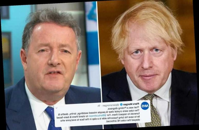 Piers Morgan brands Boris Johnson a 'f***king disgrace' for refusing to sack Dominic Cummings after he broke lockdown – The Sun
