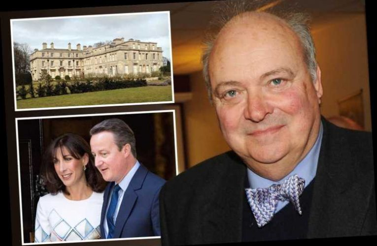 David Cameron's father-in-law Sir Reginald Sheffield was mugged for his iPhone at his stately home – The Sun