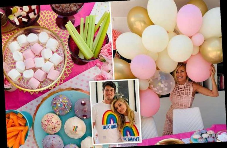 Inside Tess Daly's pink-themed birthday party for daughter Amber, 11, with huge balloon display, cakes and presents – The Sun
