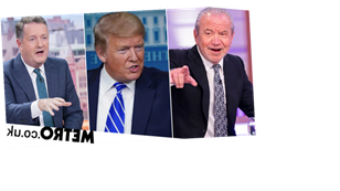 Lord Alan Sugar asks Donald Trump for Twitter followers to 'upset' Piers Morgan