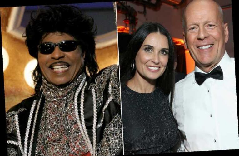 Demi Moore Honors Little Richard with Throwback Photo of Him Officiating Her Wedding to Bruce Willis