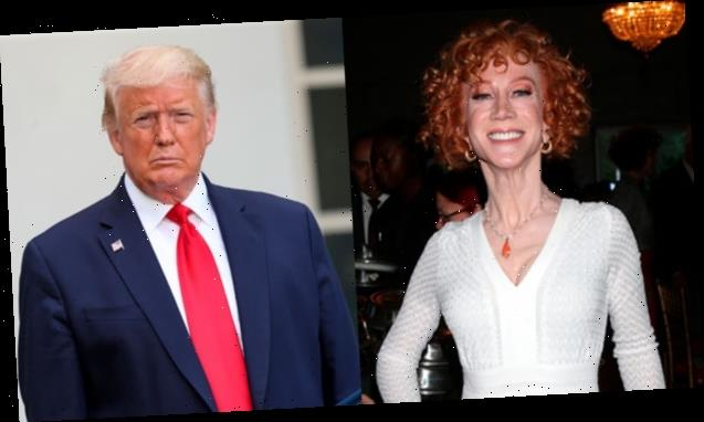 Kathy Griffin Faces Backlash For Suggesting Donald Trump Should Be Injected With Air