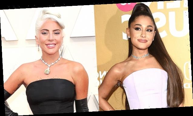Ariana Grande Lets Her Hair Out Of Her Iconic Ponytail In 'Rain On Me' Music Video With Lady Gaga