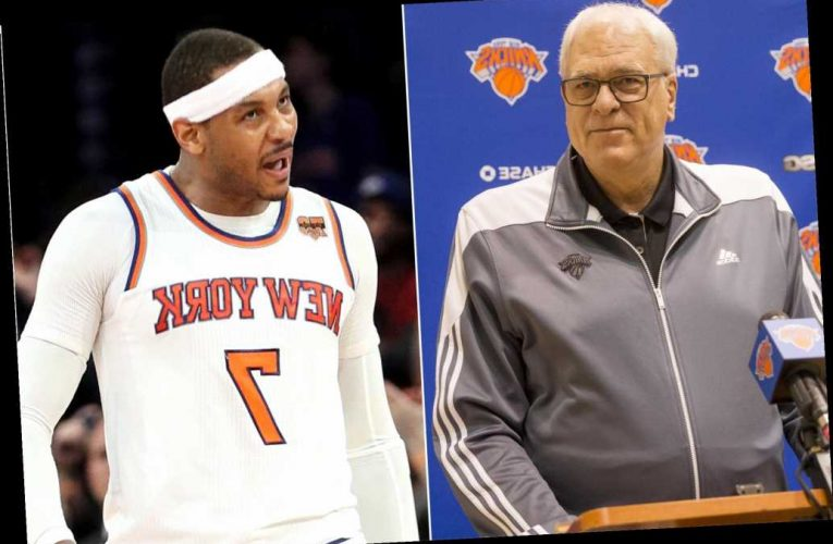 Carmelo Anthony could've been 'Jordan' by embracing triangle: Phil Jackson pal