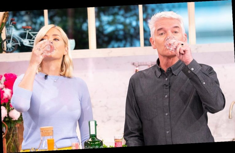 Phillip Schofield reveals his very unique lockdown exercise – and it involves gin!