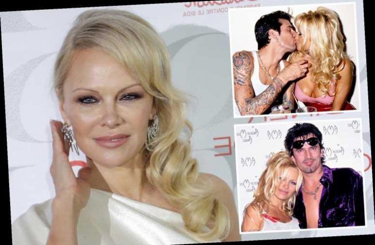 Pamela Anderson insists her infamous 'sex tape' with ex Tommy Lee was only a 'compilation of naked vacation' photos – The Sun