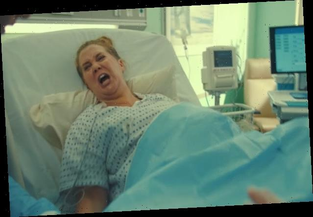 'SNL' and Amy Schumer Honor Moms by Showing How Awful Childbirth Is (Video)