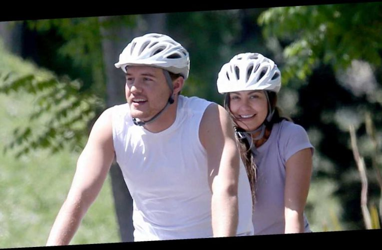 Peter Weber and Kelley Flanagan Were Just Spotted Kissing on a Tandem Bike Ride