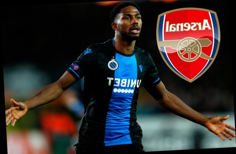 Arsenal set to raid Club Brugge for striker Emmanuel Dennis as Arteta looks for Aubameyang transfer replacement – The Sun