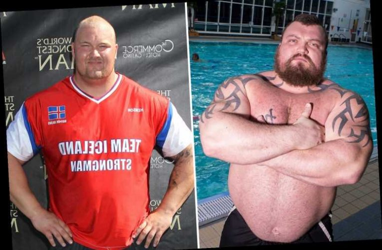 Eddie Hall claims rival Hafthor Bjornsson has smeared him with 'lies' for years over World's Strongest Man cheat scandal – The Sun