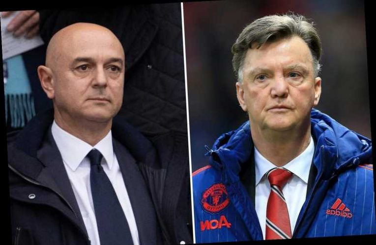 Daniel Levy left in the BOOT of a car after holding talks with Louis van Gaal over Tottenham job in 2014 – The Sun