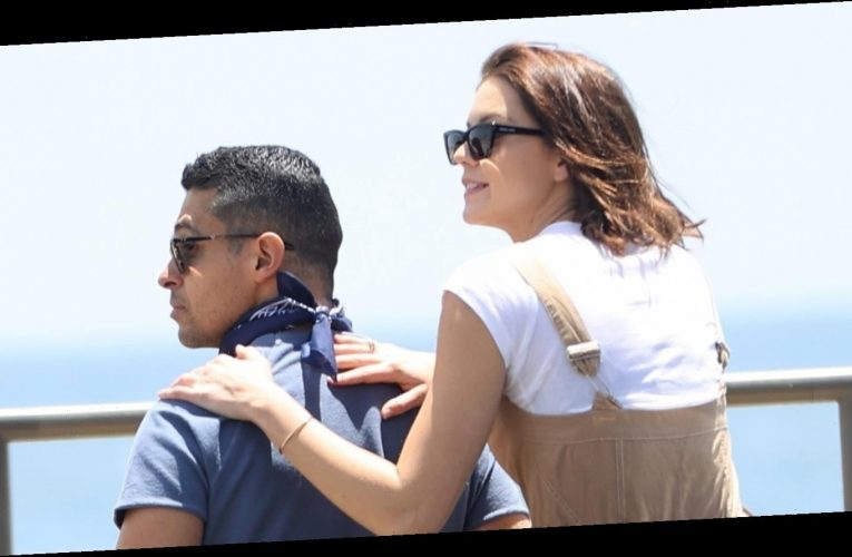 Wilmer Valderrama & Fiancee Amanda Pacheco Go For Romantic Drive Along Malibu Coast