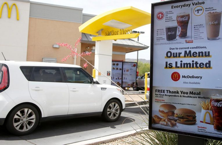 McDonald's unveils coronavirus reopening plan: Empty tables, modified beverage procedures