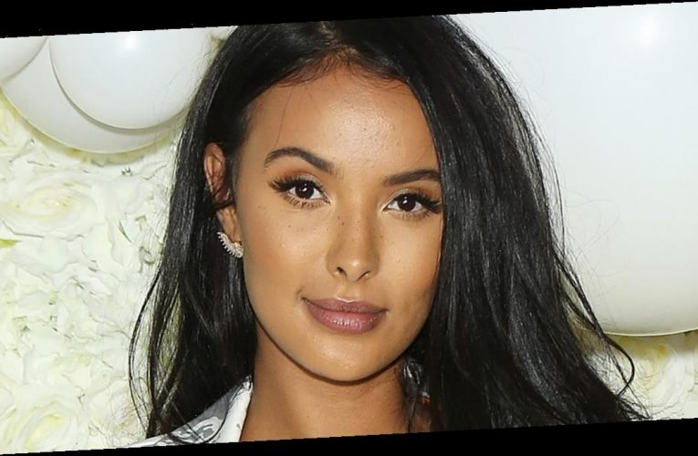 Maya Jama attends peaceful Black Lives Matter protest in London after the murder of George Floyd