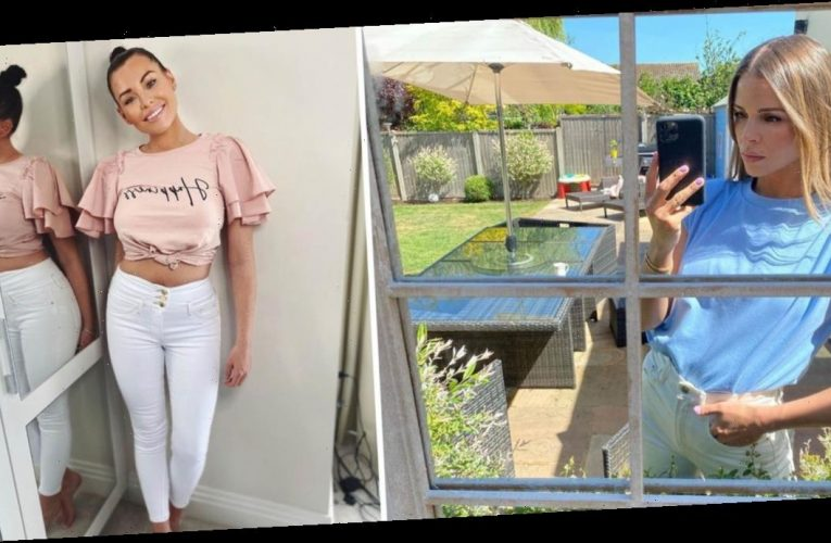 Get ready for summer like Chloe Lewis and Jessica Wright with these 22 t-shirts for £25 or less