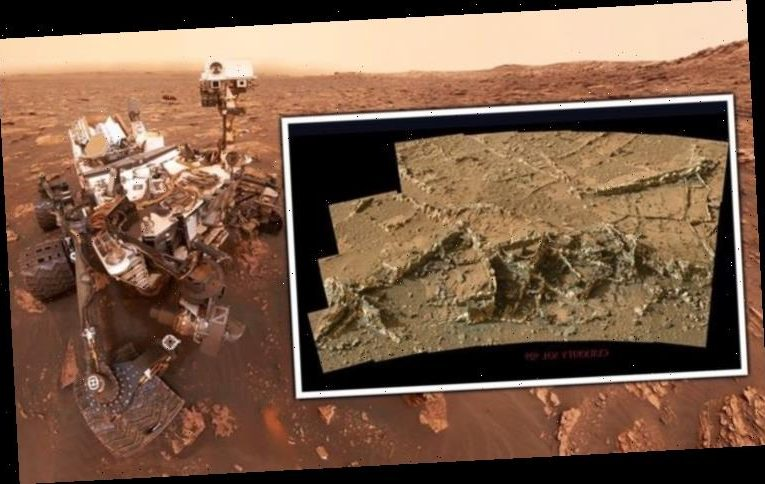 Life on Mars? NASA Curiosity rover spies evidence of 'ancient alien ruins'